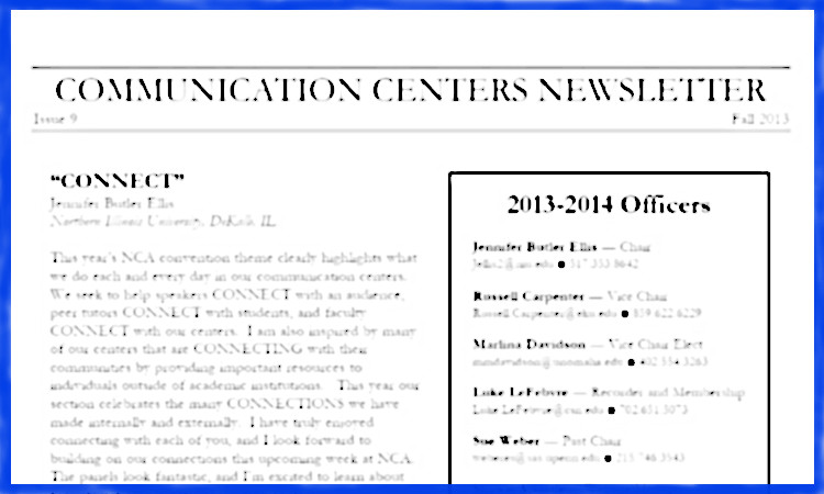 Links to the NACC newsletter